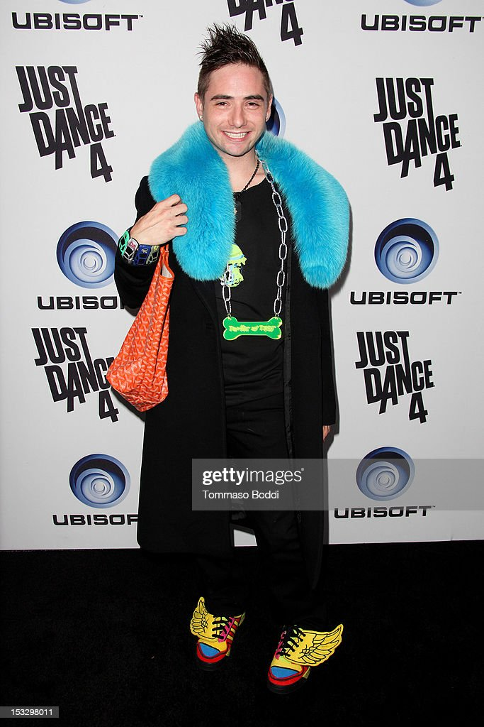 Michael Kuluva attends the Ubisoft presents the launch of 'Just Dance 4' held at Lexington Social House on October 2, 2012 in Hollywood, California.