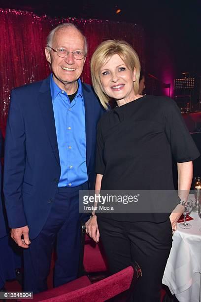 Michael Kunze and Carmen Nebel attend the Deutscher Musical Theater Preis 2016 on October 11 2016 in Berlin Germany