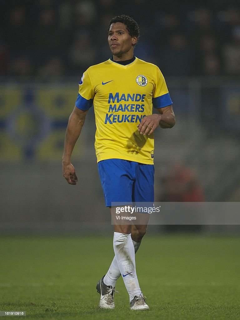 Michael Lamey of RKC Waalwijk during the Dutch Eredivisie match between RKC Waalwijk and Ajax Amsterdam at the Mandemakers Stadium on february 17, 2013 in Waalwijk, The Netherlands