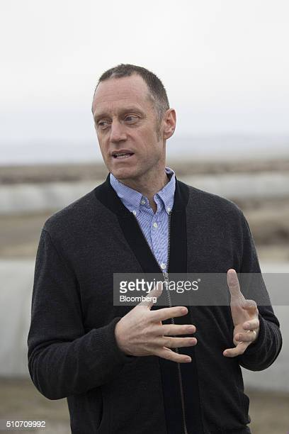 Michael Landry lead detection scientist of the Laser Interferometer GravitationalWave Observatory speaks during a public tour at the Hanford Site in...