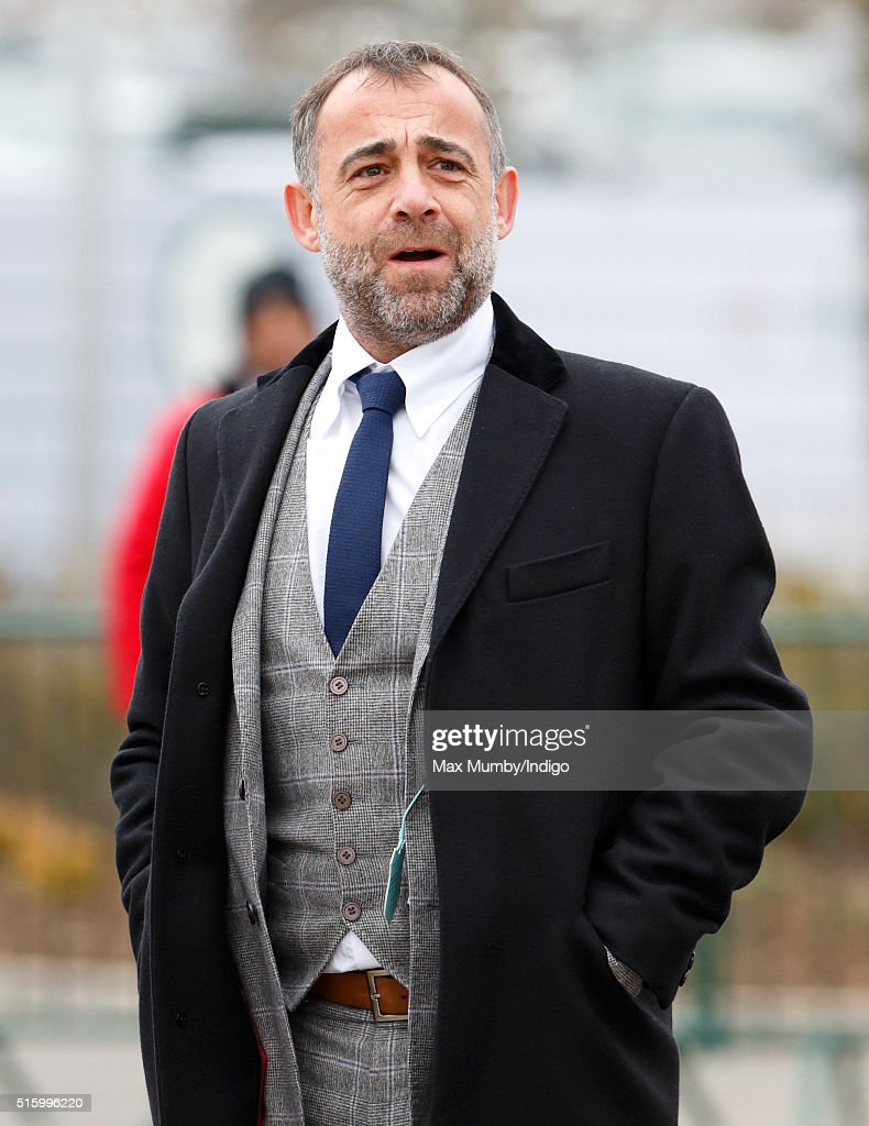 Michael Le Vell attends day 2, Ladies Day, of the Cheltenham Festival on March 16, 2016 in Cheltenham, England.
