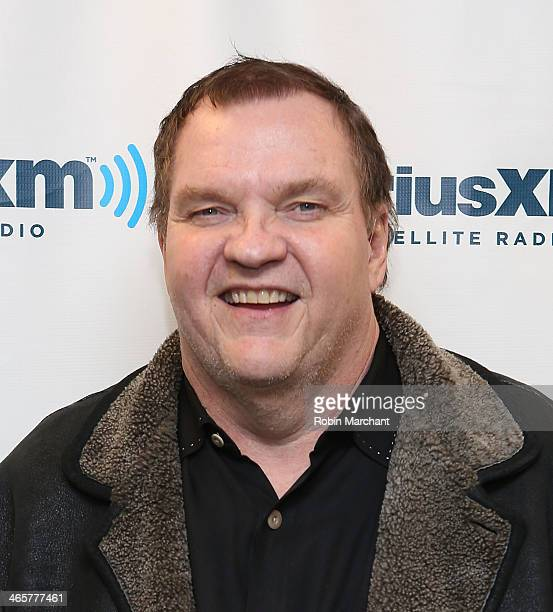 Michael Lee 'Meat Loaf' Aday visits at SiriusXM Studios on January 29 2014 in New York City