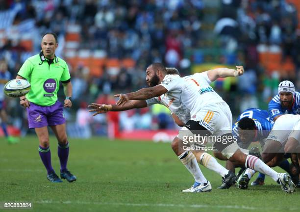Michael Leitch of Chiefs during the Super Rugby Quarter final between DHL Stormers and Chiefs at DHL Newlands on July 22 2017 in Cape Town South...