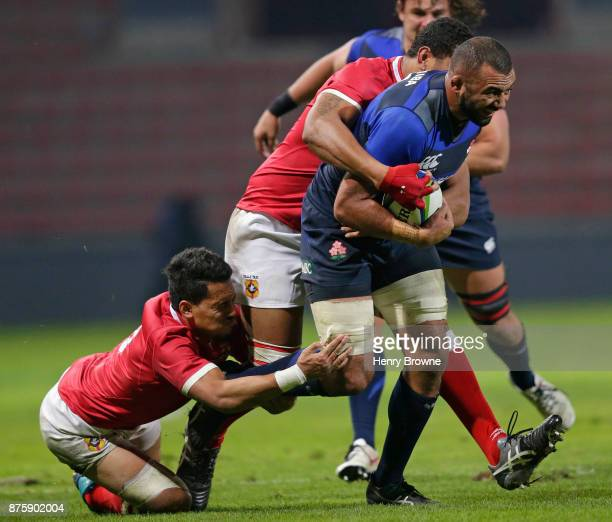 Michael Leitch of Japan during the international match between Japan and Tonga at Stade Ernest Wallon on November 18 2017 in Toulouse Kanagawa France