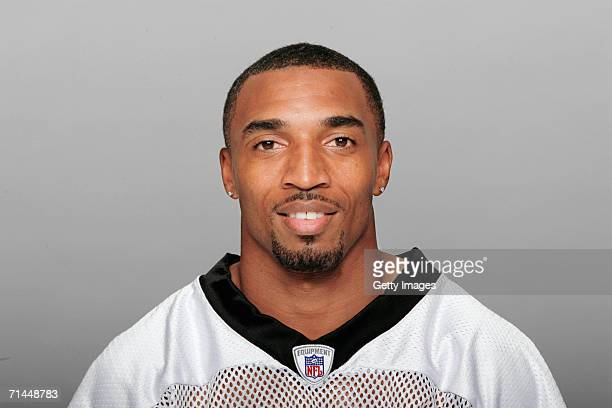 Michael Lewis of the New Orleans Saints poses for his 2006 NFL headshot at photo day in New Orleans Louisiana