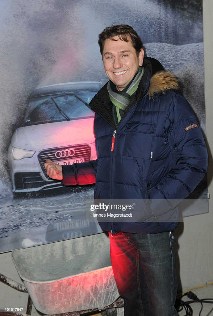 Michael Link attends the roofing ceremony at Audi second-hand car center on February 13, 2013 in Munich, Germany.