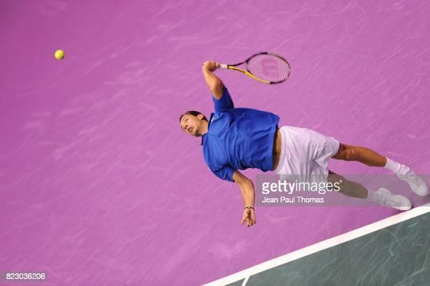 Michael LLODRA 1/2 Finale Coupe Davis 2010 Match 1 Palais des sports de Gerland Lyon