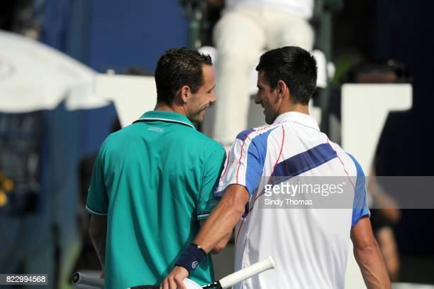 Michael Llodra / Novak Djokovic Championship Duty Free Dubai 2011