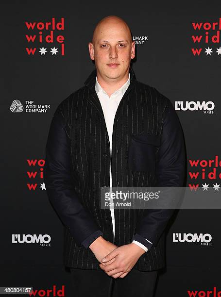 Michael Lo Sordo at the L'Uomo Vogue and Woolmark Company Gala and Exhibition to celebrate L'Uomo Vogue magazine's March Issue dedicated to Australia...