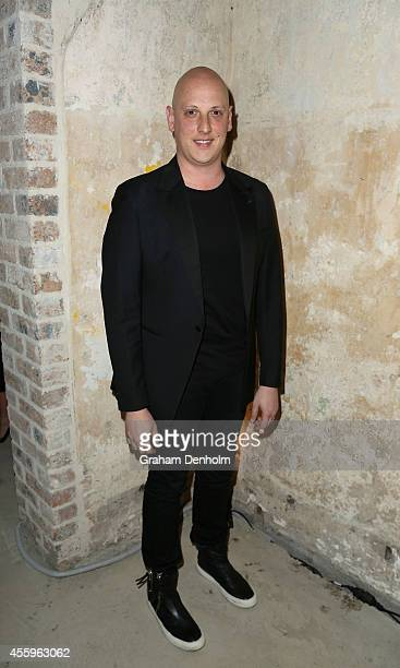 Michael Lo Sordo attends the Tiffany T collection launch on September 23 2014 in Sydney Australia