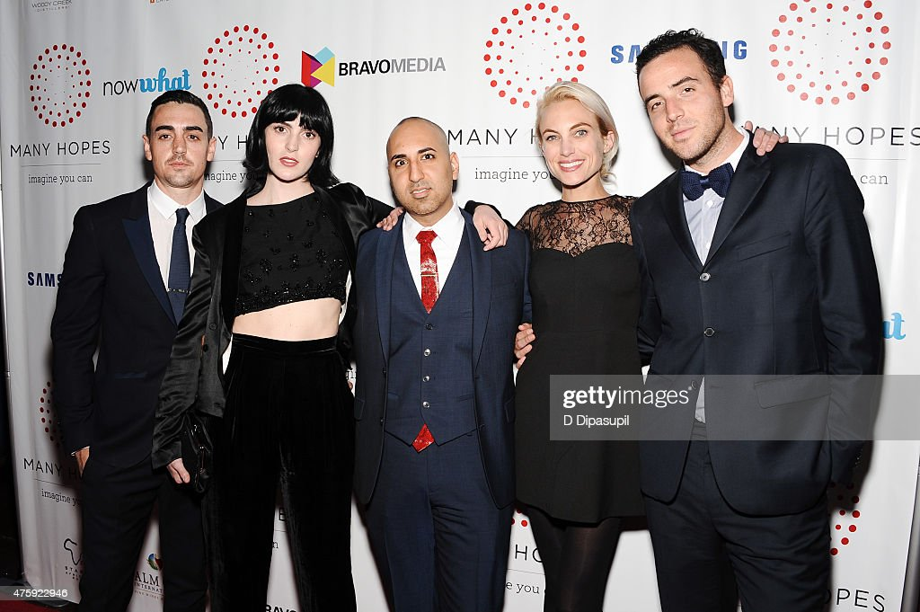 Michael Lohan Jr, Ali Lohan, Neal Batra, Virginia Chambers, and Logan Horne attend the 4th Annual Discover Many Hopes Gala at The Angel Orensanz Foundation on June 4, 2015 in New York City.