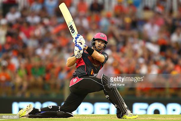 Michael Lumb of the Sixers bats during the Big Bash League match between Perth Scorchers and Sydney Sixers at WACA on January 2 2016 in Perth...