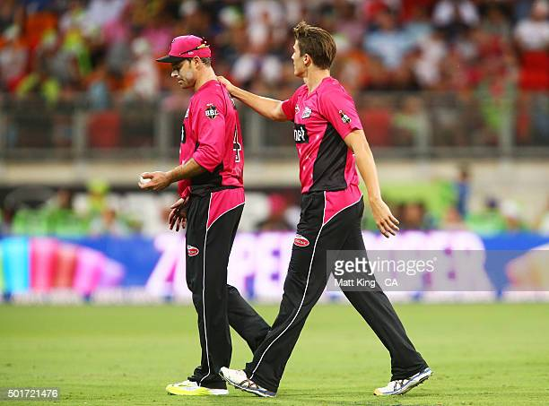 Michael Lumb of the Sixers looks delected after dropping a catch off the bowling of Sean Abbott of the Sixers during the Big Bash League match...