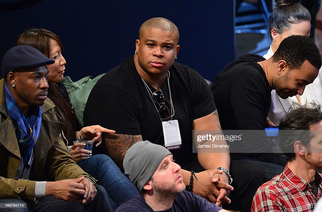 <a gi-track='captionPersonalityLinkClicked' href=/galleries/search?phrase=Michael+Lynche&family=editorial&specificpeople=6749182 ng-click='$event.stopPropagation()'>Michael Lynche</a> attends the Los Angeles Lakers vs Brooklyn Nets game at Barclays Center on February 5, 2013 in the Brooklyn borough of New York City.