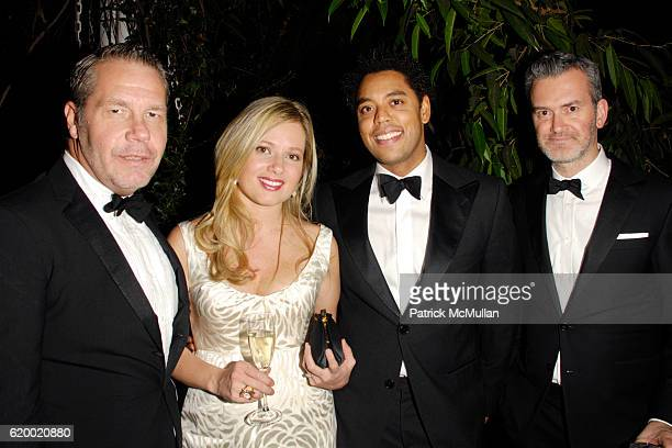 Michael Macko Heather McAuliffe Wendell Brown and Frank Muytjens attend The Tenth Annual WINTER WONDERLAND BALL Sponsored by CHANEL FINE JEWELRY at...