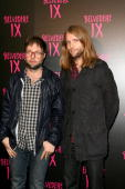 Michael Madden and James Valentine of Maroon 5 arrive at the Belvedere IX Launch Party on February 5 2009 in Hollywood California