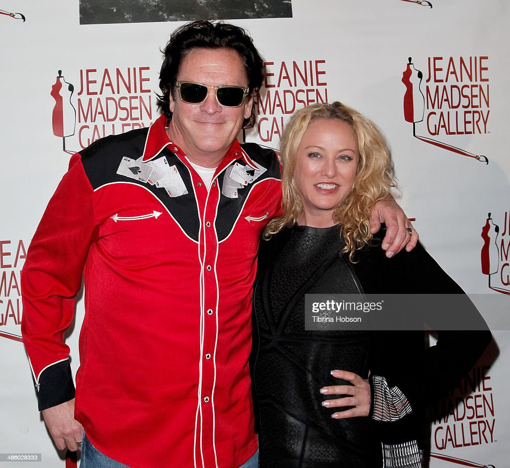 <a gi-track='captionPersonalityLinkClicked' href=/galleries/search?phrase=Michael+Madsen&family=editorial&specificpeople=171692 ng-click='$event.stopPropagation()'>Michael Madsen</a> and sister <a gi-track='captionPersonalityLinkClicked' href=/galleries/search?phrase=Virginia+Madsen&family=editorial&specificpeople=202232 ng-click='$event.stopPropagation()'>Virginia Madsen</a> attend the Aparecio Foundation event for 'Women Empowering Women' hosted by Michael & <a gi-track='captionPersonalityLinkClicked' href=/galleries/search?phrase=Virginia+Madsen&family=editorial&specificpeople=202232 ng-click='$event.stopPropagation()'>Virginia Madsen</a> at Jeanie Madsen Gallery on April 21, 2014 in Santa Monica, California.