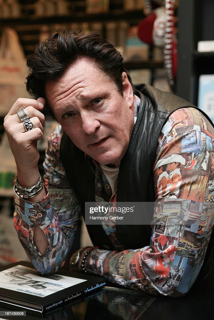 "Michael Madsen Discusses And Signs His New Book ""Expecting Rain"""