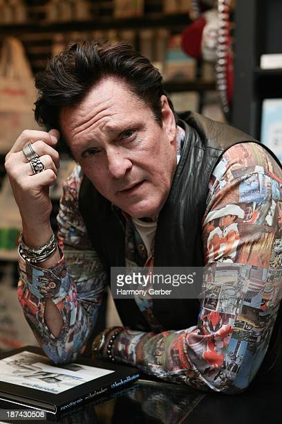 Michael Madsen at Book Soup on November 8 2013 in West Hollywood California