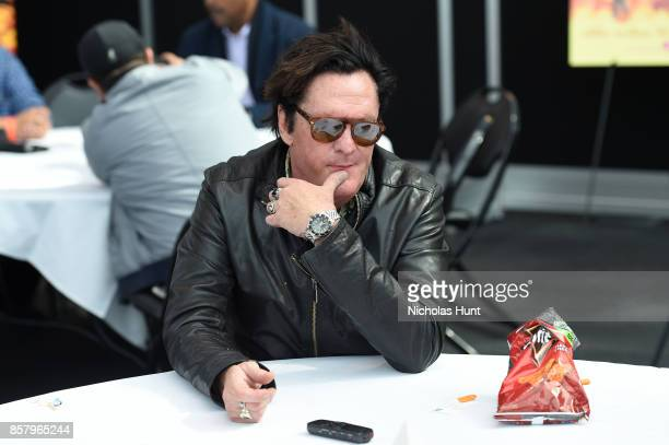 Michael Madsen attends the Explosion Jones Panel at the 2017 New York Comic Con Day 1 on October 5 2017 in New York City