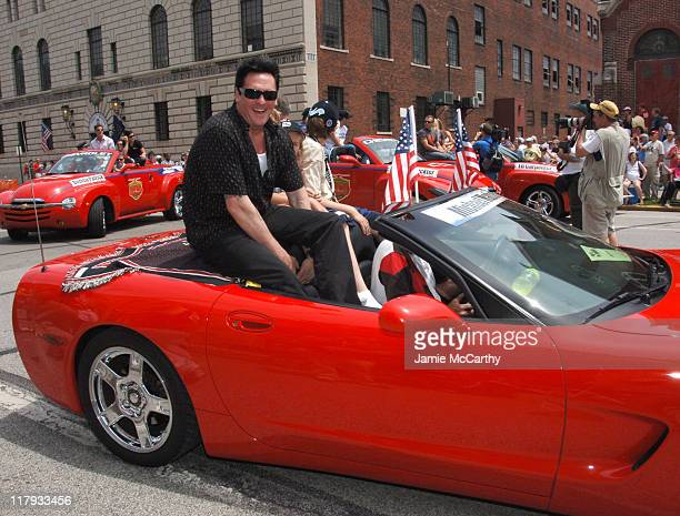 Michael Madsen during 90th Running of The Indianapolis 500 The Indy 500 All Star Festival Parade in Indianapolis Indiana United States