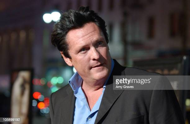 Michael Madsen during 'BloodRayne' Los Angeles Premiere Red Carpet at Mann's Chinese Theater in Hollywood California United States