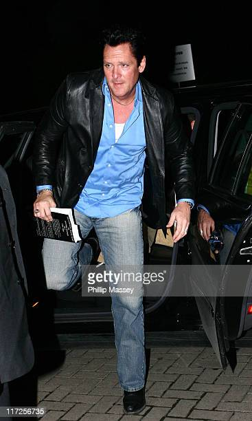 Michael Madsen during Celebrity Sightings at Tubridy Tonight September 23 2006 at RTE Studios in Dublin Ireland