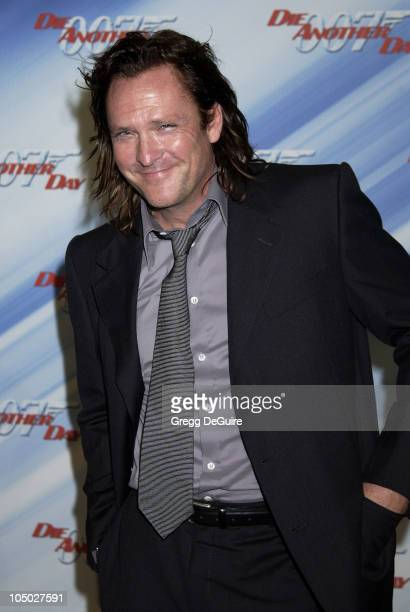 Michael Madsen during 'Die Another Day' Los Angeles Premiere at Shrine Auditorium in Los Angeles California United States