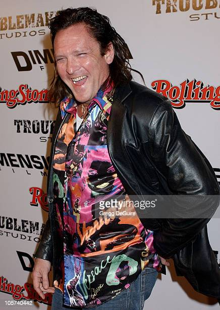 Michael Madsen during 'Sin City' Los Angeles Premiere Arrivals at Mann National Premiere in Westwood California United States