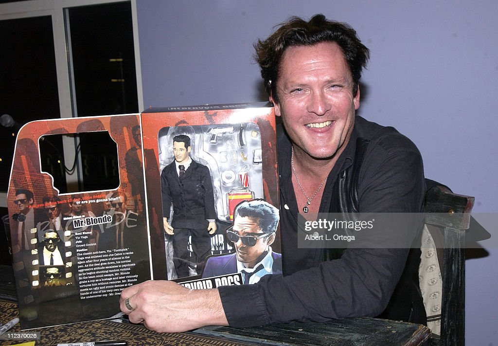 "Actor Michael Madsen signs and reads from his poetry book ""A Blessing Of The"