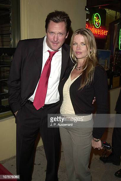 Michael Madsen wife Diana during Grand Opening of Michael Madsen's New Day Spa at Mercury's Retreat in Los Angeles California