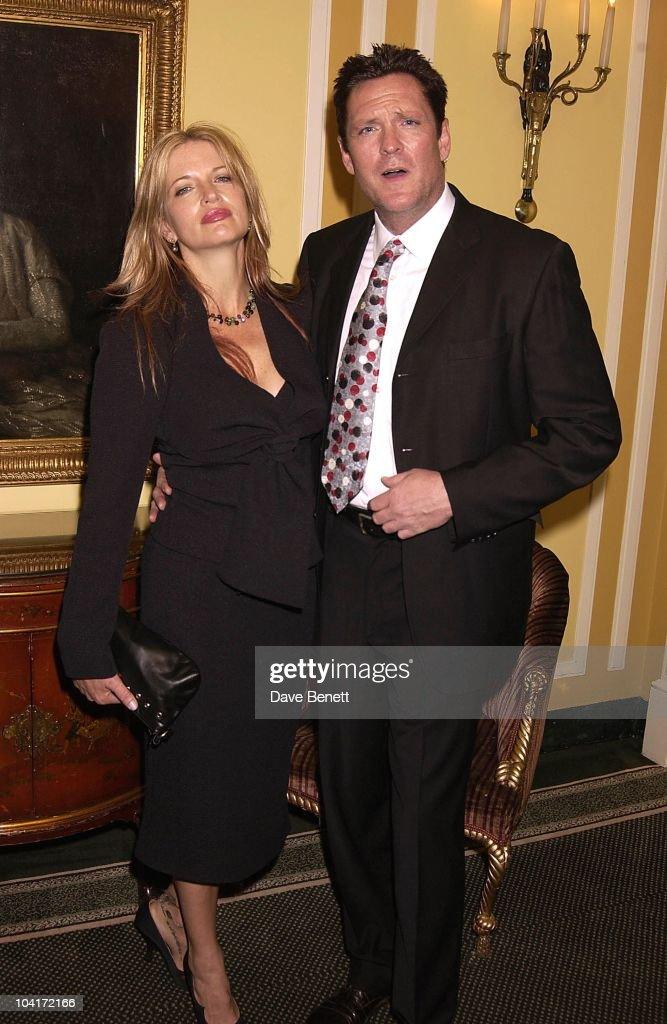 Michael Madsen & Wife, London Film Critics Circle Awards 2002, At The Dorchester Hotel, London