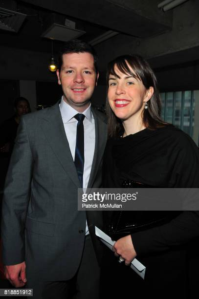 Michael Maguire and Maureen Maguire attend In the Studio A Celebration of the Young Arts Gold and Silver Winners at Baryshnikov Arts Center and...