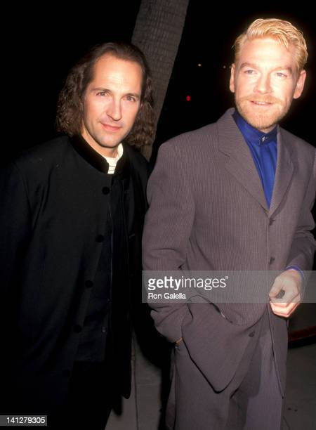 Michael Maloney and Kenneth Branagh at the Premiere of 'Othello' Samuel Goldwyn Theater Beverly Hills