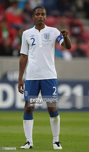 Michael Mancienne of England during the UEFA European Under21 Championship Group B match between Ukraine and England at the Herning Stadium on June...