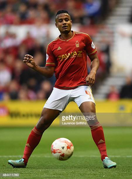 Michael Mancienne of Nottingam Forest in action during the Sky Bet Championship match between Nottingham Forest and Charlton Athletic at City Ground...