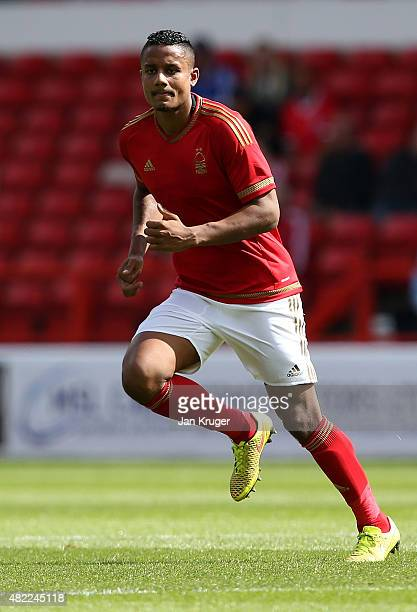 Michael Mancienne of Nottingham Forest during the pre season friendly match between Nottingham Forest and Swansea City at City Ground on July 25 2015...