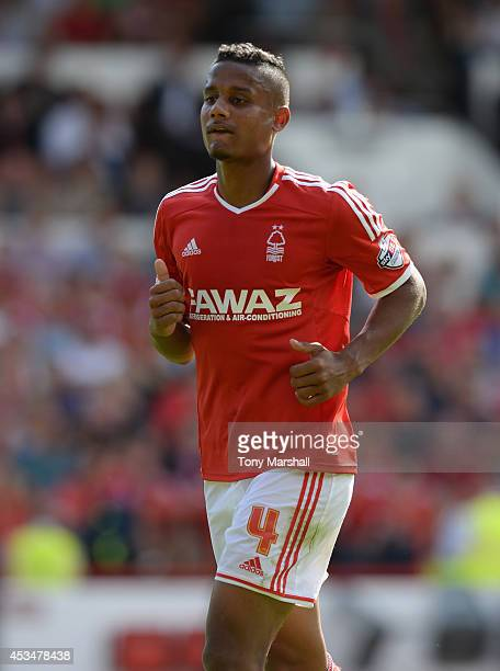 Michael Mancienne of Nottingham Forest during the Sky Bet Championship match between Nottingham Forest and Blackpool at City Ground on August 9 2014...