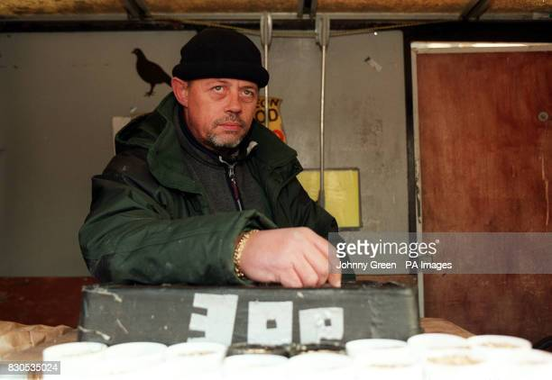 Michael Mangion who is helping out on Rayner's bird seed stall in Trafalgar Square central London The last pigeon feed seller in Trafalgar Square is...