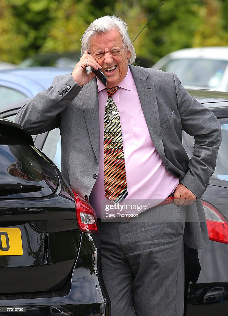 Michael Mansfield QC during a lunch break at the Hillsborough Inquest at the specially adapted office building in Birchwood Park on June 16, 2015 in Warrington, England. Trevor Hicks today gave evidence about the afternoon when his daughters, Sarah and Victoria Hicks, died along with 96 other Liverpool fans during an FA Cup semi-final on April 15, 1989.