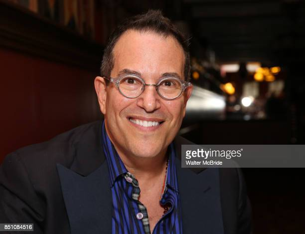 Michael Mayer during the Michael Moore And Michael Mayer portrait unveilings as the join the Wall of Fame at Sardi's on September 21 2017 at Sardi's...