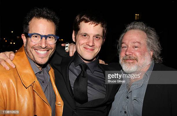 Michael Mayer Michael Mayer and Tom Hulce attend The Opening Night of 'The Intelligent Homosexual's Guide to Capitalism and Socialism with a Key to...
