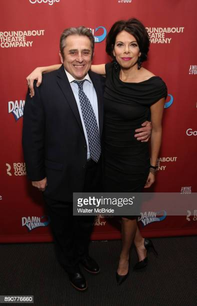 Michael McCormick and Jill Abramovitz attend the cast party for the Roundabout Theatre Company presents a OneNight Benefit Concert Reading of 'Damn...