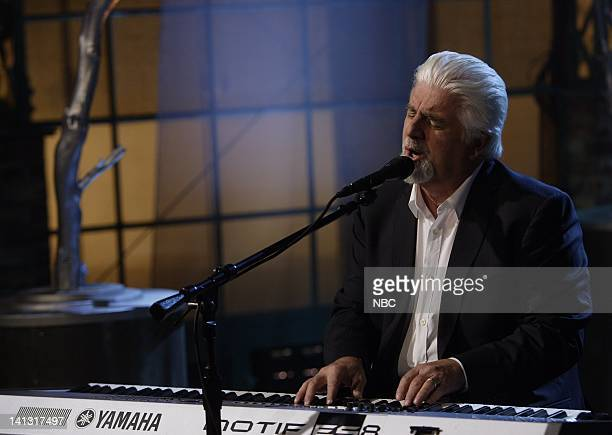 LENO Michael McDonald Air Date 3/18/08 Episode 3516 Pictured Musical guest Michael McDonald performs on March 18 2008 Photo by Dave Bjerke/NBCU Photo...