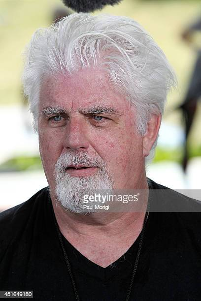 Michael McDonald backstage at PBS's 2014 A CAPITOL FOURTH rehearsals at US Capitol West Lawn on July 3 2014 in Washington DC