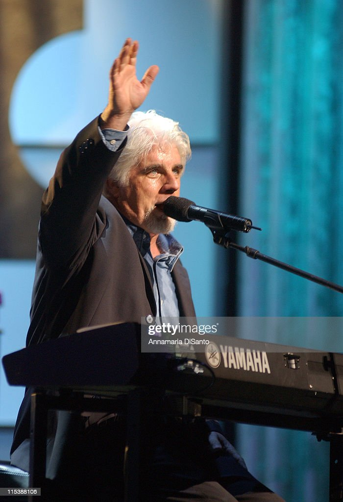 Michael McDonald during Bogart Tour For A Cure 2003 featuring Seal, Jonny Lang, Michael McDonald, Gavin DeGraw, Queen Latifah and Sharon Osbourne at Kodak Theatre in Los Angeles, California, United States.