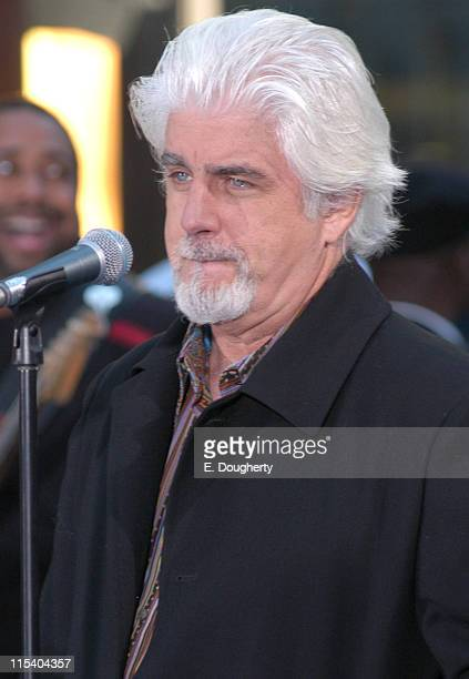 Michael McDonald during Wynonna Judd Michael McDonald and Eric Benet Perform on NBC's 'The Today Show' October 19 2005 at Rockefeller Center in New...