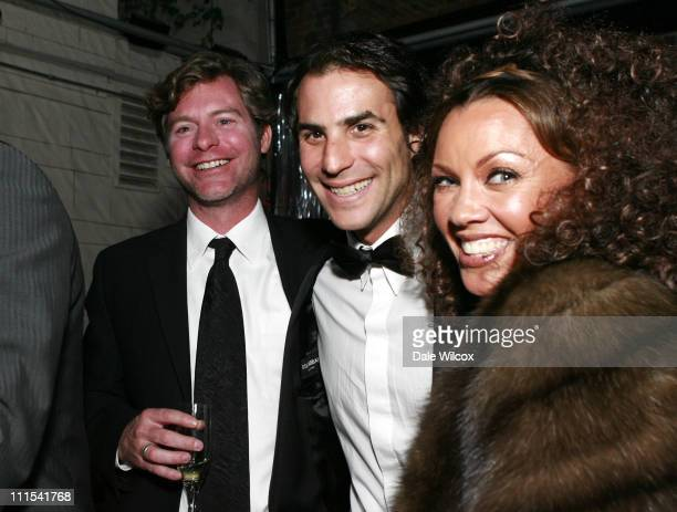 Michael McDonald of Touchstone Pictures Ben Silverman of Reveille and Vanessa Williams