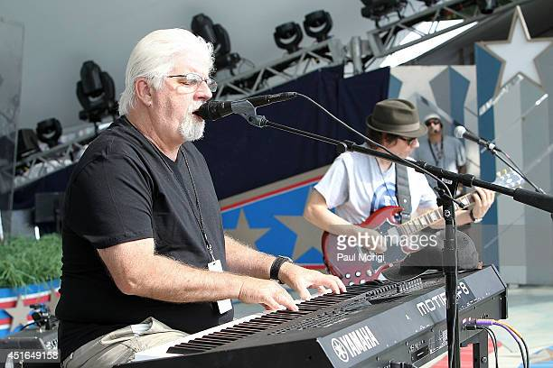 Michael McDonald performs at PBS's 2014 A CAPITOL FOURTH rehearsals at US Capitol West Lawn on July 3 2014 in Washington DC