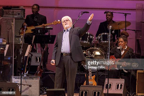 Michael McDonald performs onstage during 'Celebrating the Music of Bill Withers' at Carnegie Hall on October 1 2015 in New York City